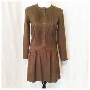 J. Crew ~ Drop Waisted Jumper Dress - Size 2